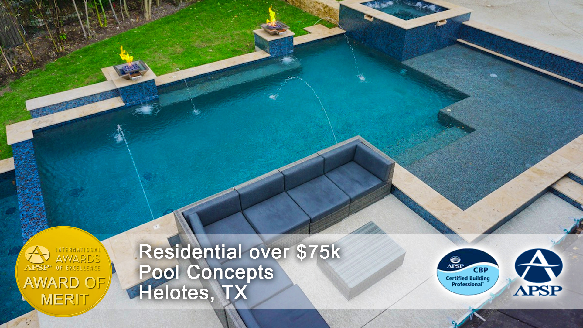 San antonio swimming pool builder pool concepts for Pool design concepts llc