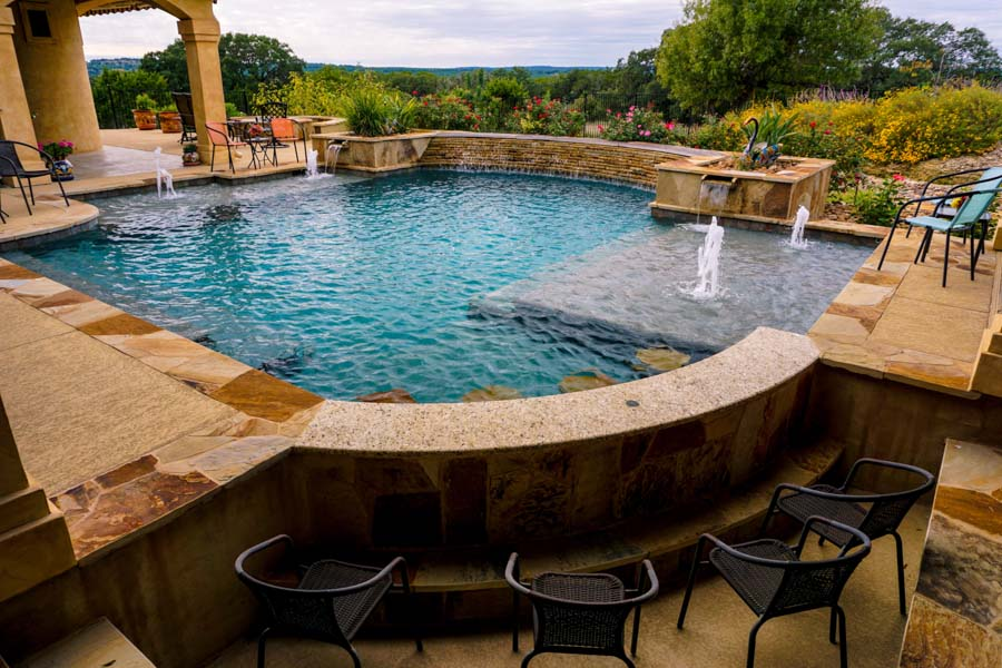 San Antonio Swimming Pool Builder Pool Concepts